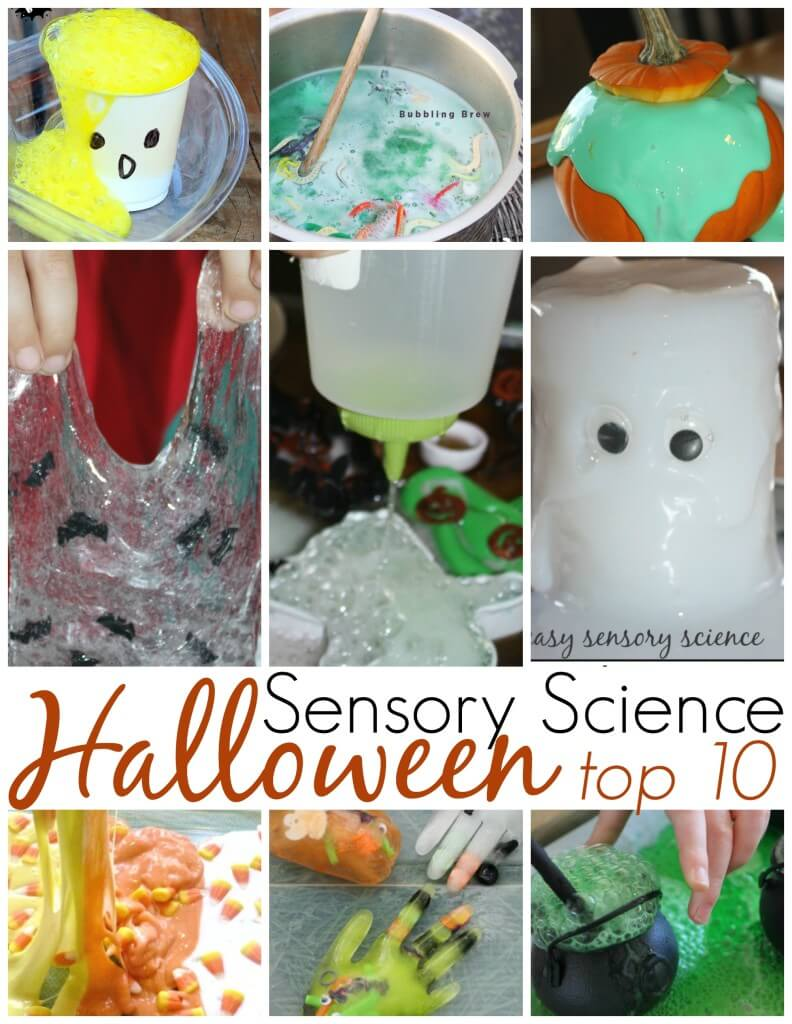 Top 10 Halloween Science Sensory Activities For Kids
