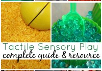 Ultimate Tactile Sensory Play Guide And Resource
