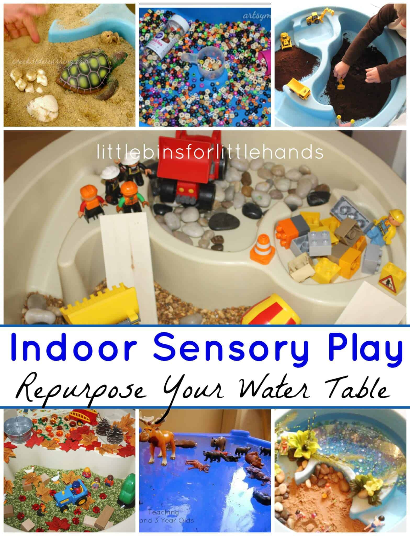 Indoor Water Table Sensory Play Ideas