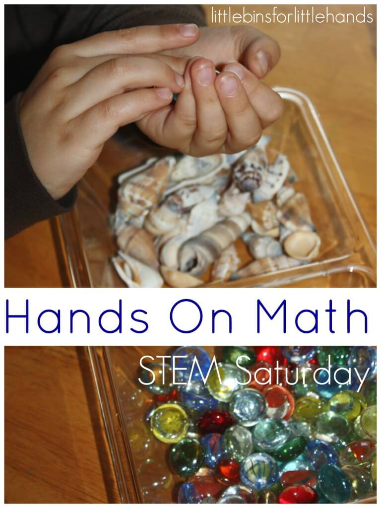 Weighing Activity Hands On Math Counting STEM Saturday