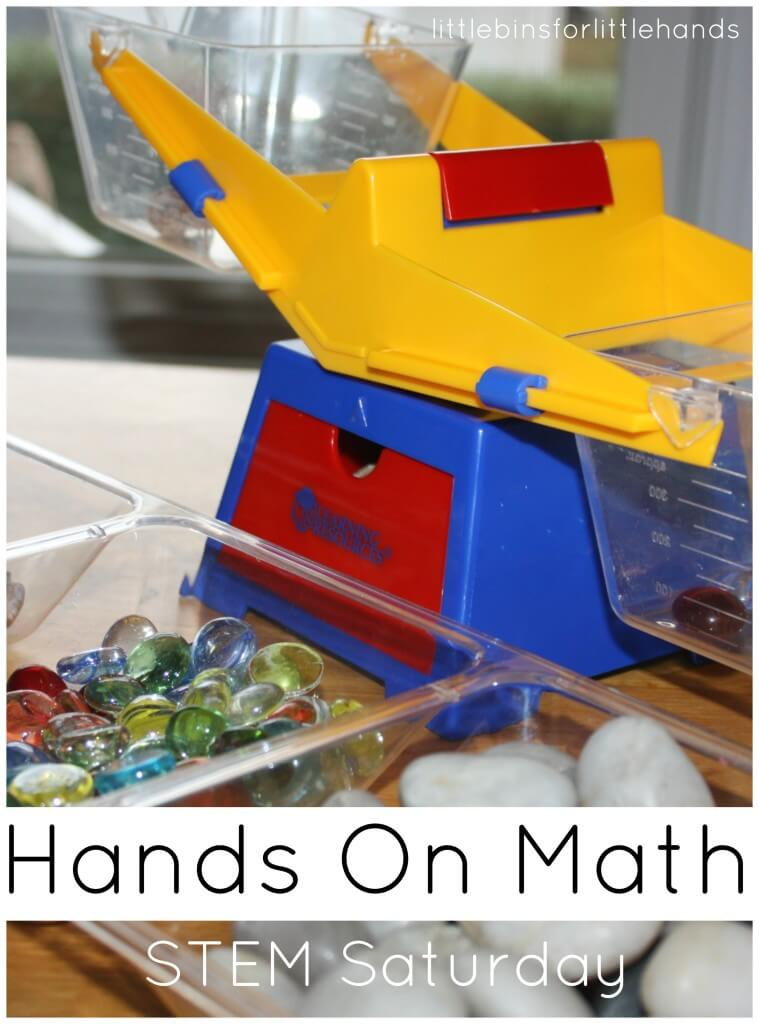 Weighing Activity Hands On Math Stem Saturday