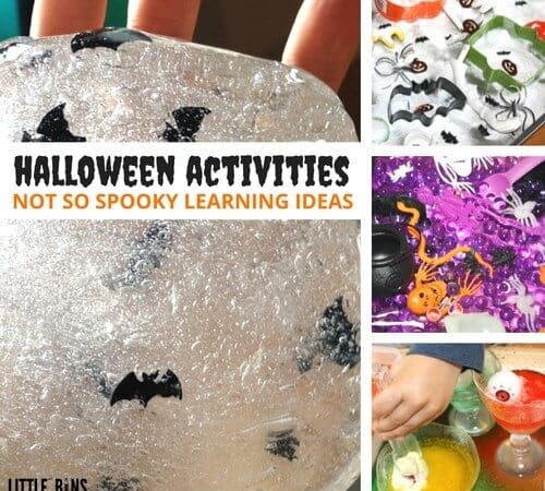 Kindergarten and Preschool Halloween Activities For Kids