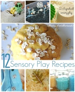 12 Sensory Play Recipes
