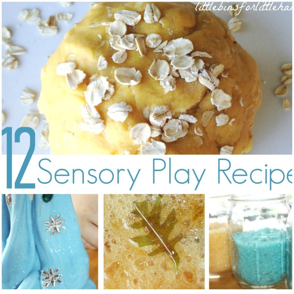 12 Sensory Play Recipes Side bar