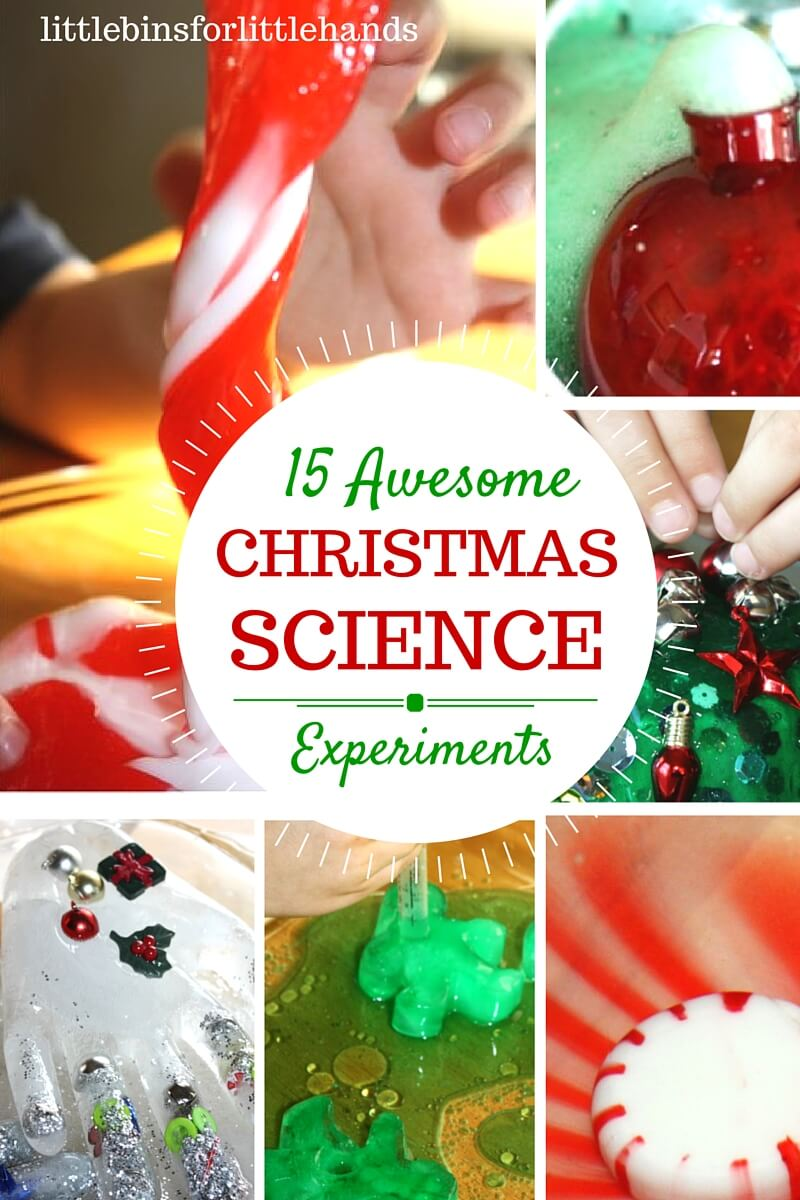 Christmas science activities and experiments for kids for Christmas themed activities for kids