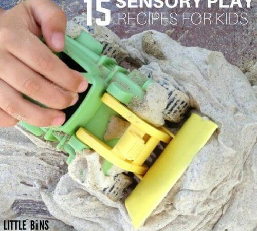 Sensory Play Recipe and Sensory Activities for Kids