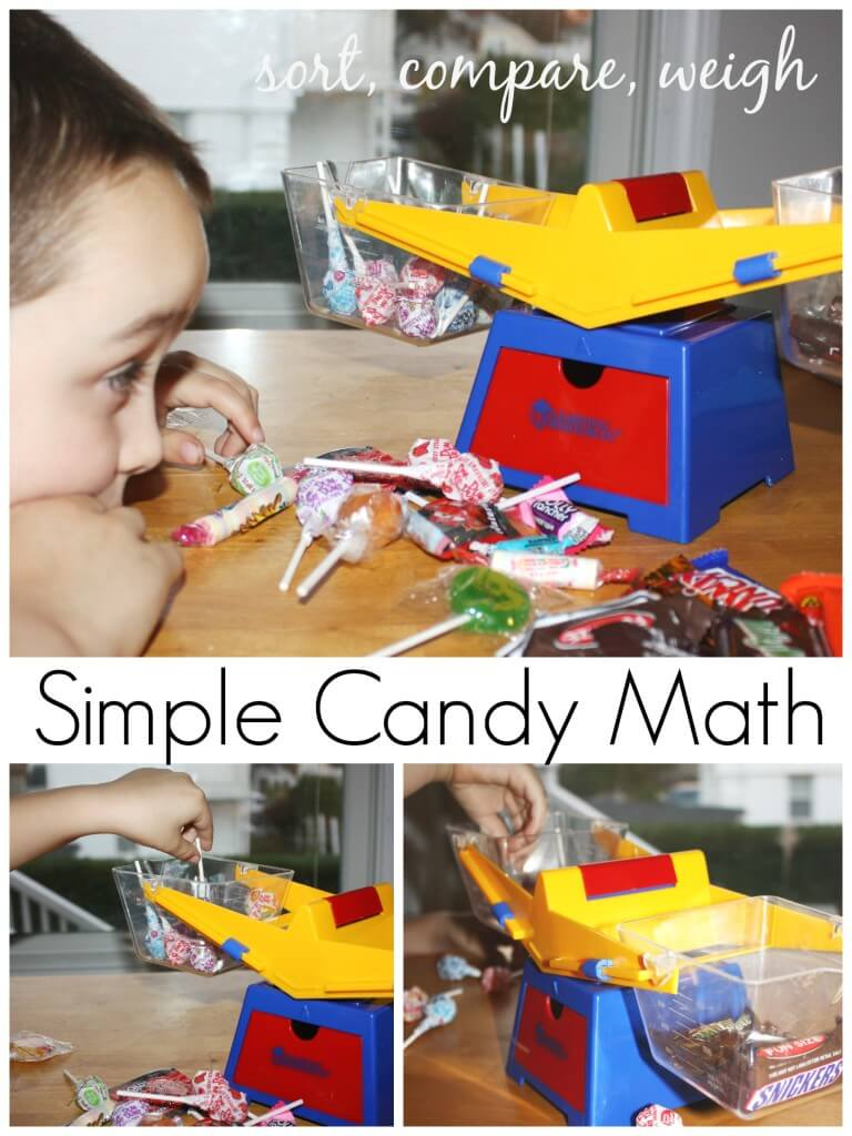 Candy Activities Candy math Sort Compare Weigh