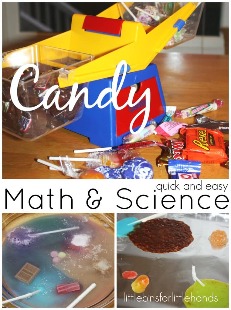 Candy Activities Math Science hands On Learning