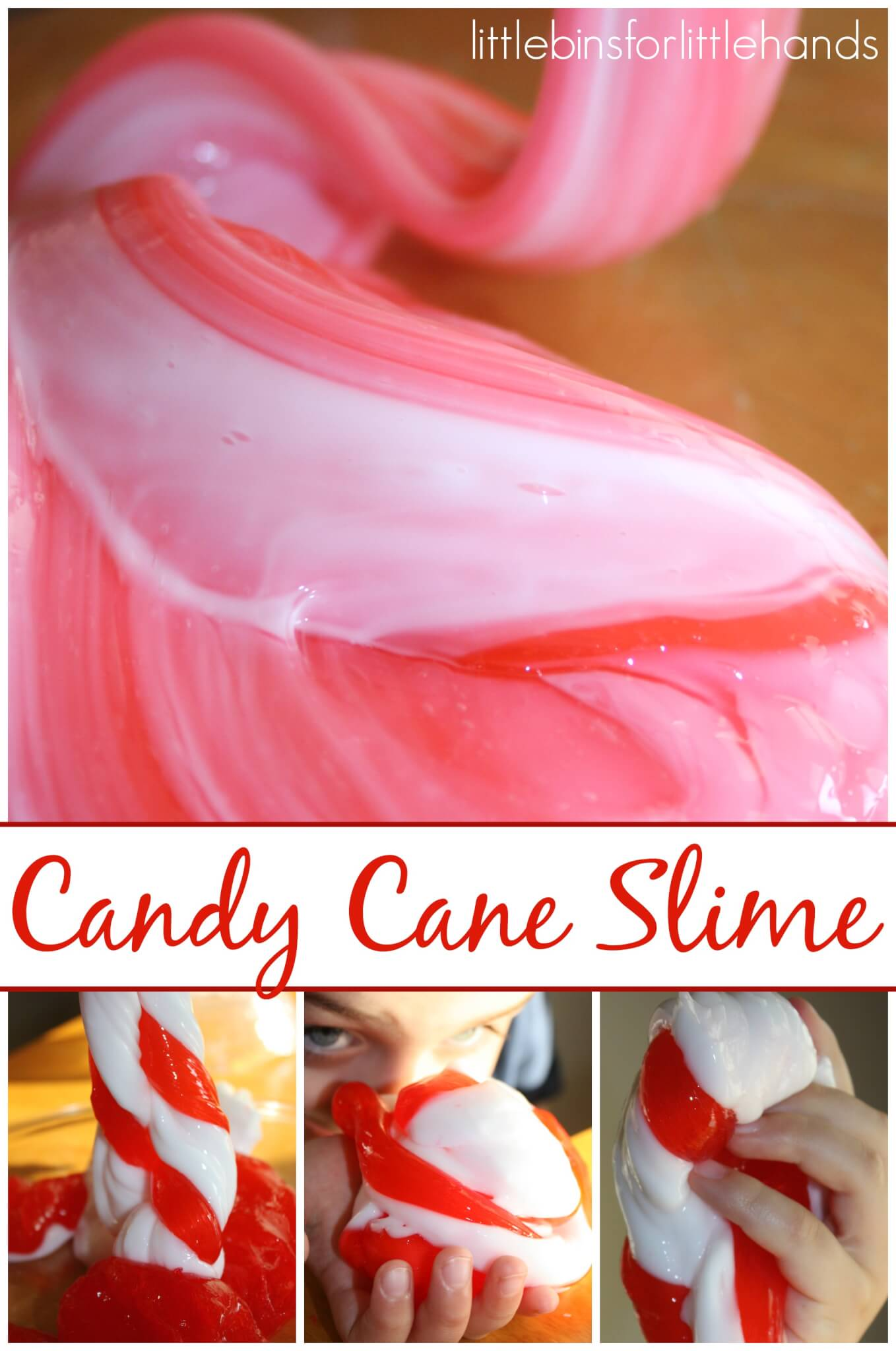 Candy Cane Slime Recipe on Easy Science Fair Project Ideas