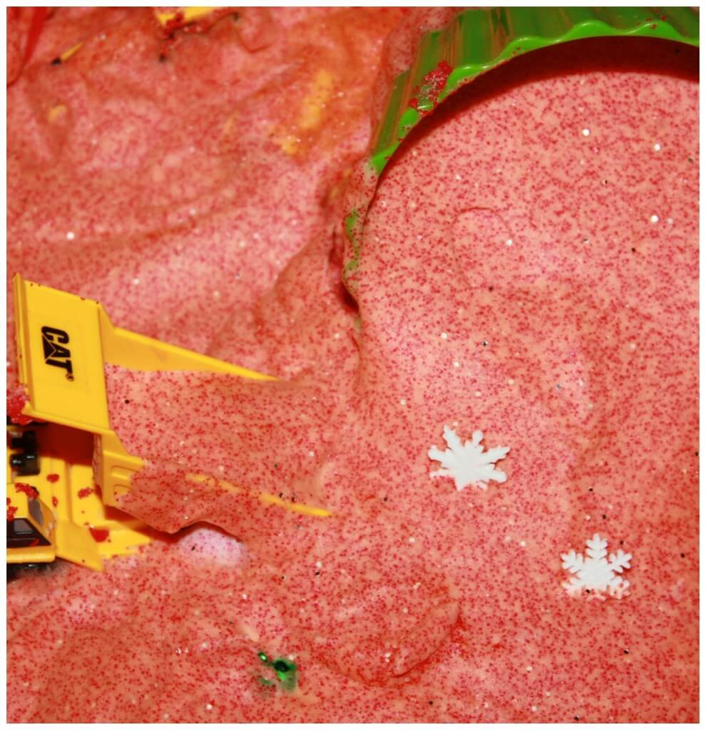 Christmas Sand Foam Sensory Play Messy Sensory Play Recipe