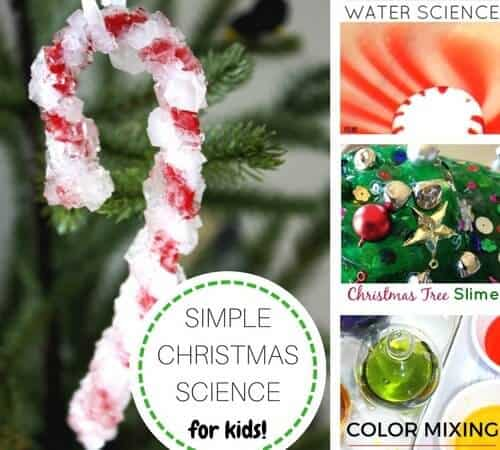 Best Christmas Science Activities and Experiments For Kids {Volume 1}