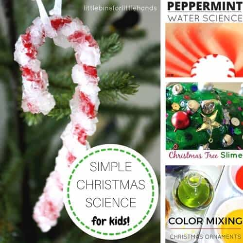 christmas science activities and experiments for kids - Childrens Christmas Ornaments