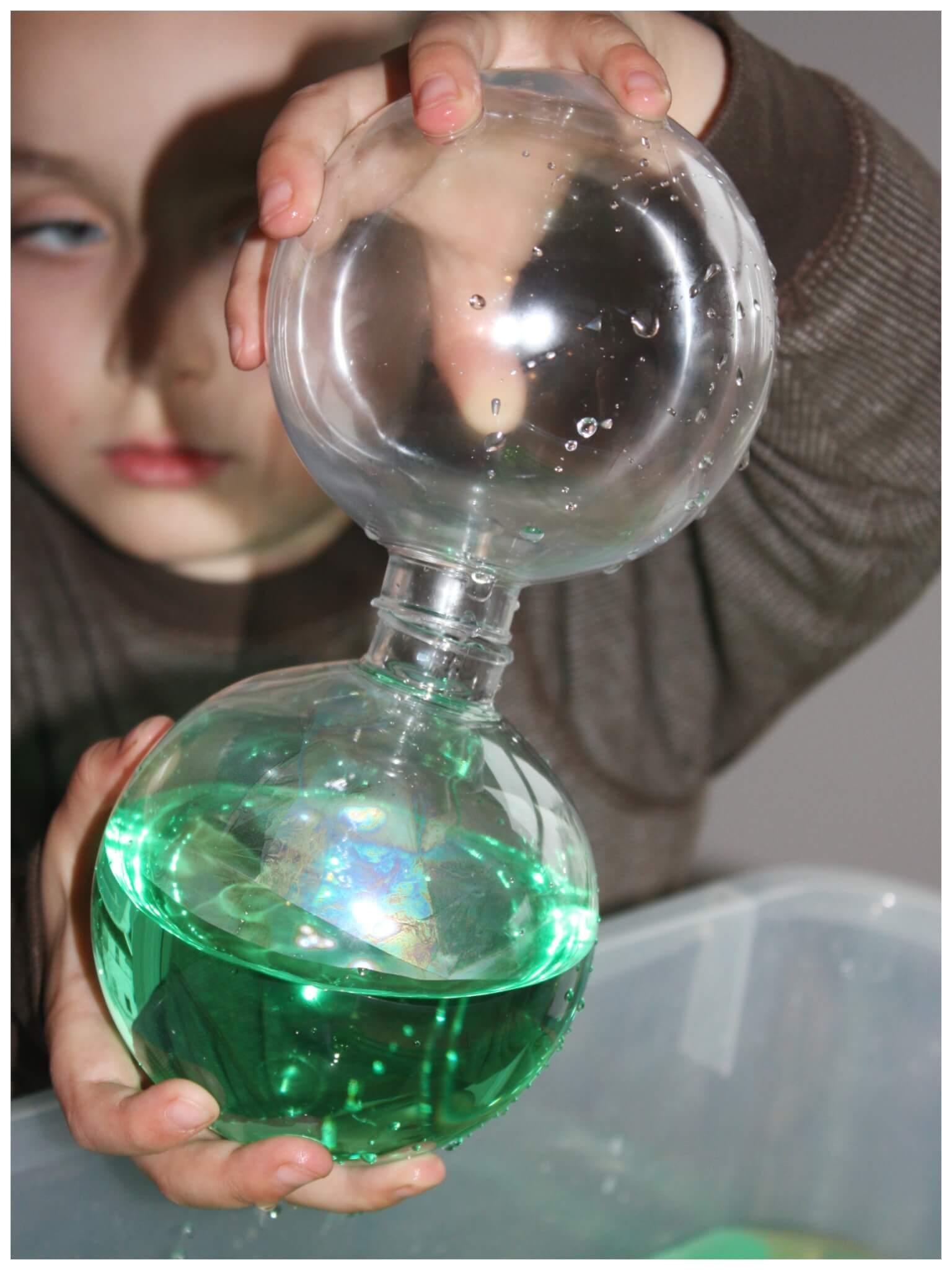 Christmas Sensory Water Sensory Bin