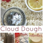Cloud Dough Activities Quick Sensory Play Ideas