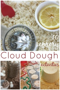 Cloud Dough Activities Quick Sensory Play Ideas