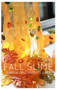Fall Slime Science