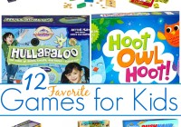 Favorite Games For Kids Age 5+ Multi and single player options