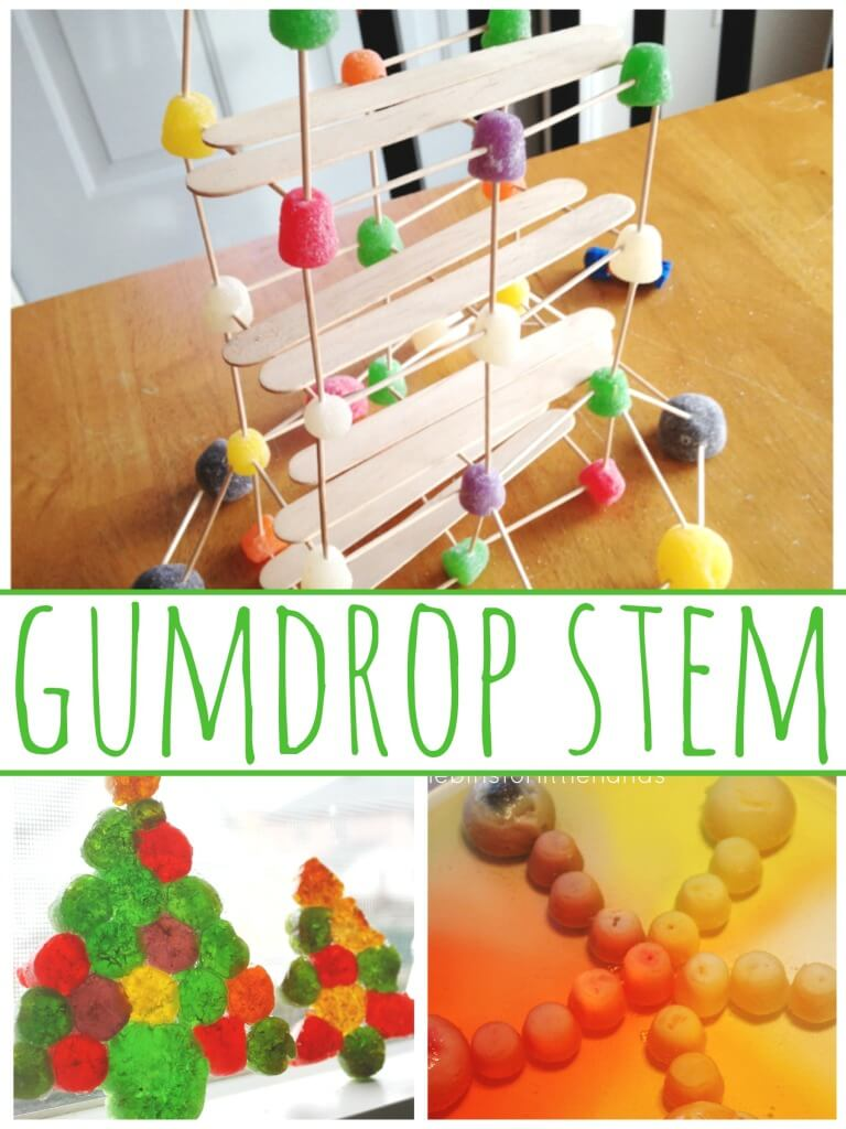 Calendar Activities For Preschoolers : Christmas candy stem challenge design a chimney for santa