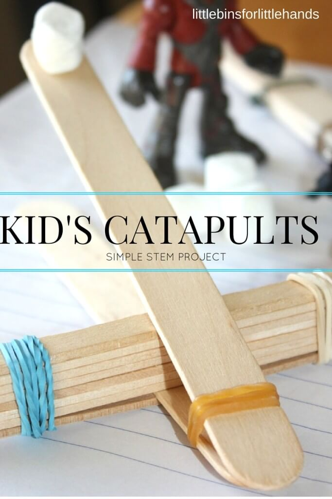 Popsicle catapults
