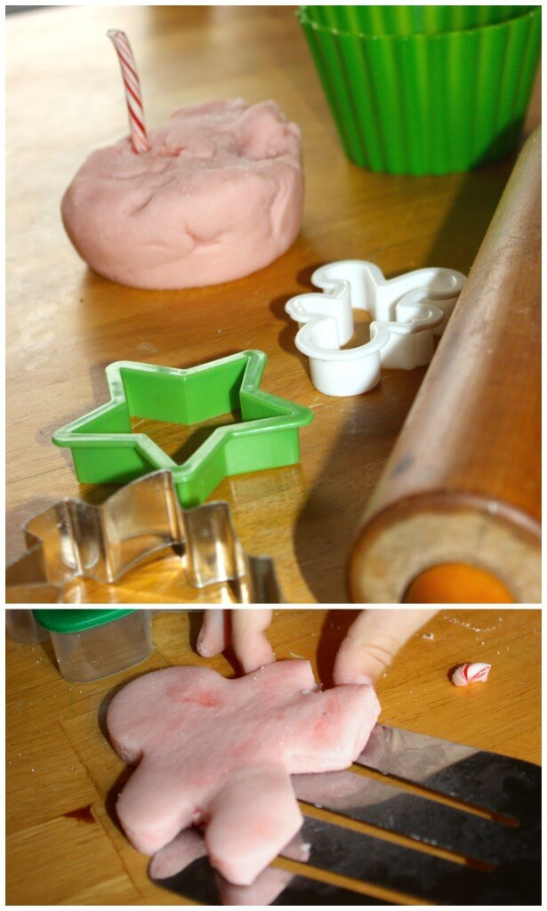 Salt Dough Recipe Peppermint Cookie Play Cookie Cutters