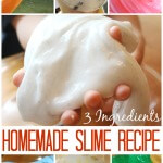 Starch Slime Recipe Homemade Easy Slime Recipe