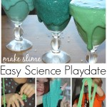 slime recipe for science playdate or party