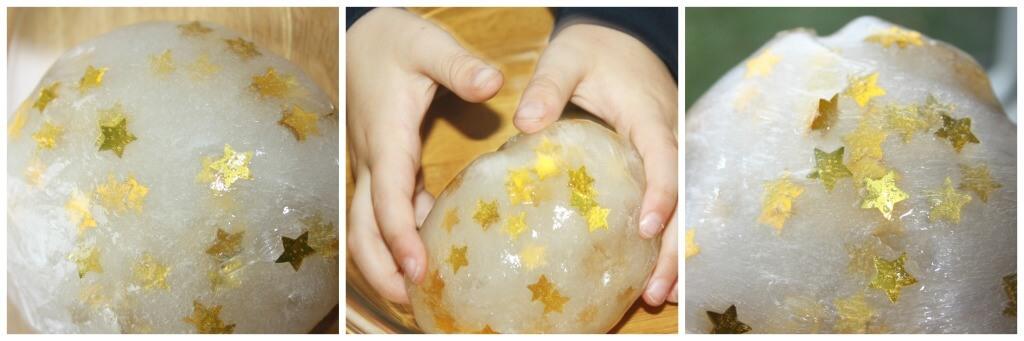 star confetti slime play recipe easy slime