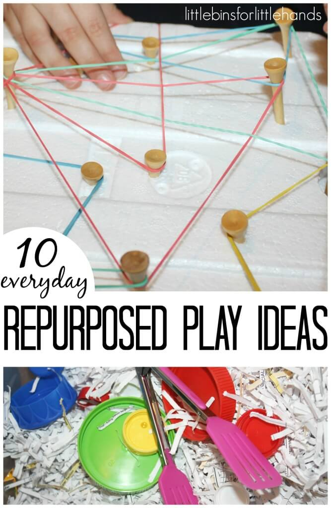 10 Repurposed Everyday Play Ideas For Kids
