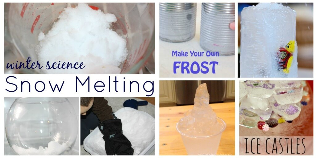 20 Playful Winter Science Ideas for Kids Winter Play Activities