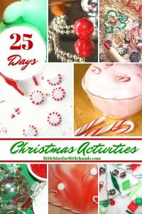 25 Days of Christmas Sensory Play Activities Christmas Advent Calendar for Kids