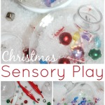 Christmas Ornament Sensory Play Activity