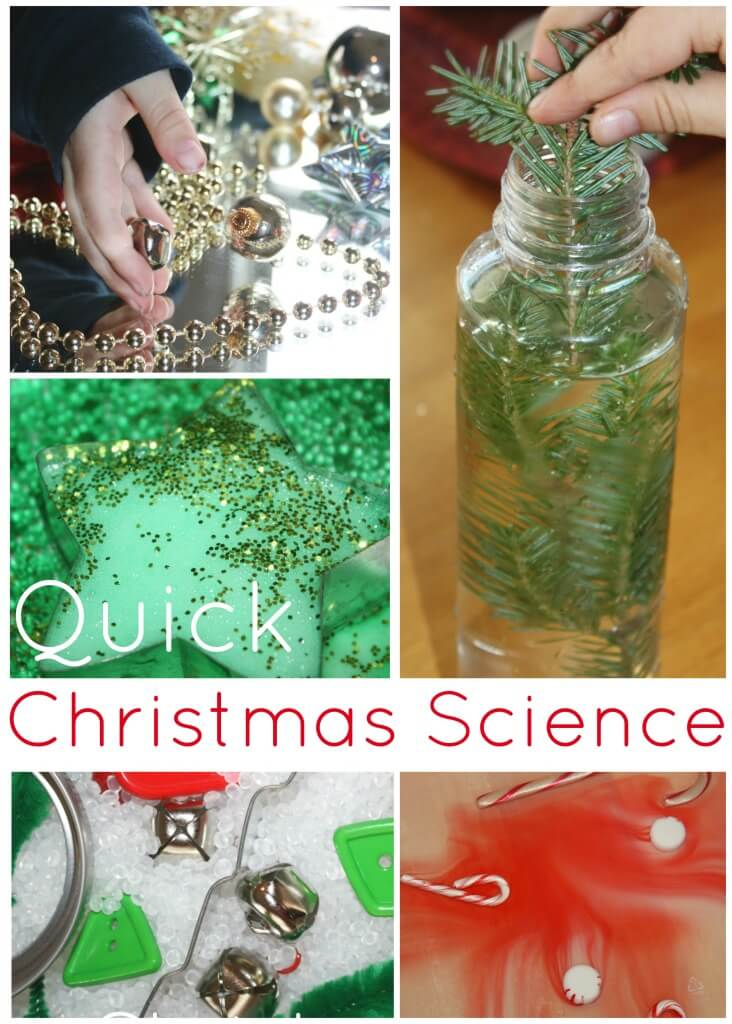 Science Christmas Activities for Kids Holiday STEM