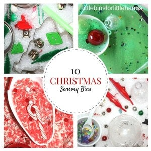 Christmas Sensory Bins for Kids Christmas Activities