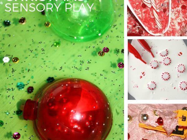 25 Christmas Sensory Play Activities Advent Ideas