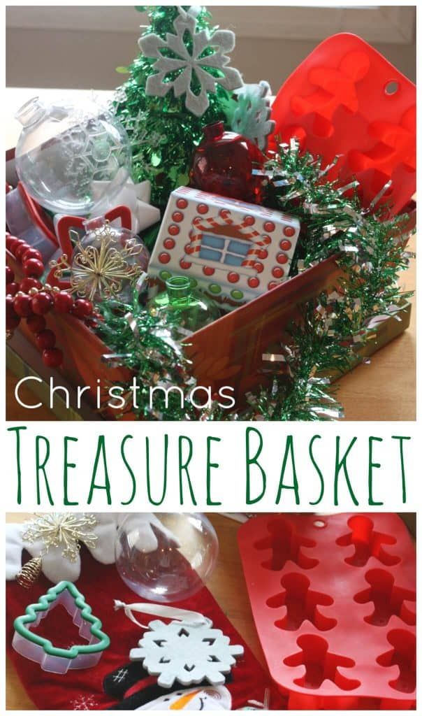 Christmas Treasure Basket