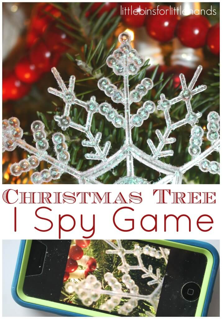 Christmas Tree I Spy Game