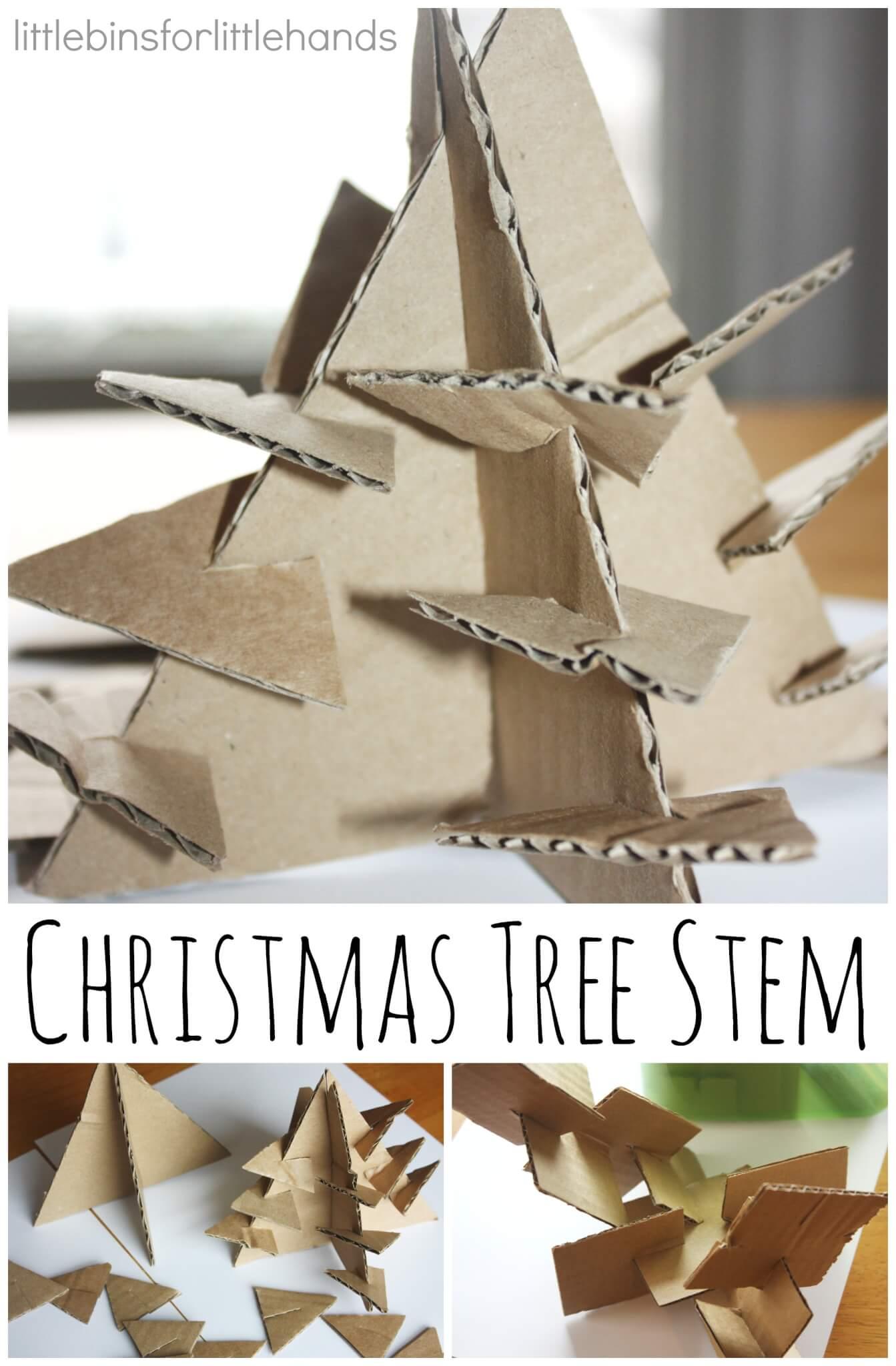 Christmas Stem Activities Challenges Little Bins For Little Hands