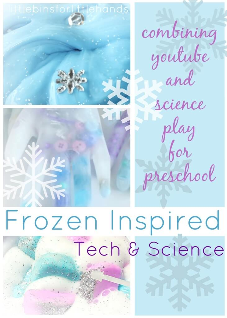 Frozen Themed Science Technology Ideas for Kids Preschool