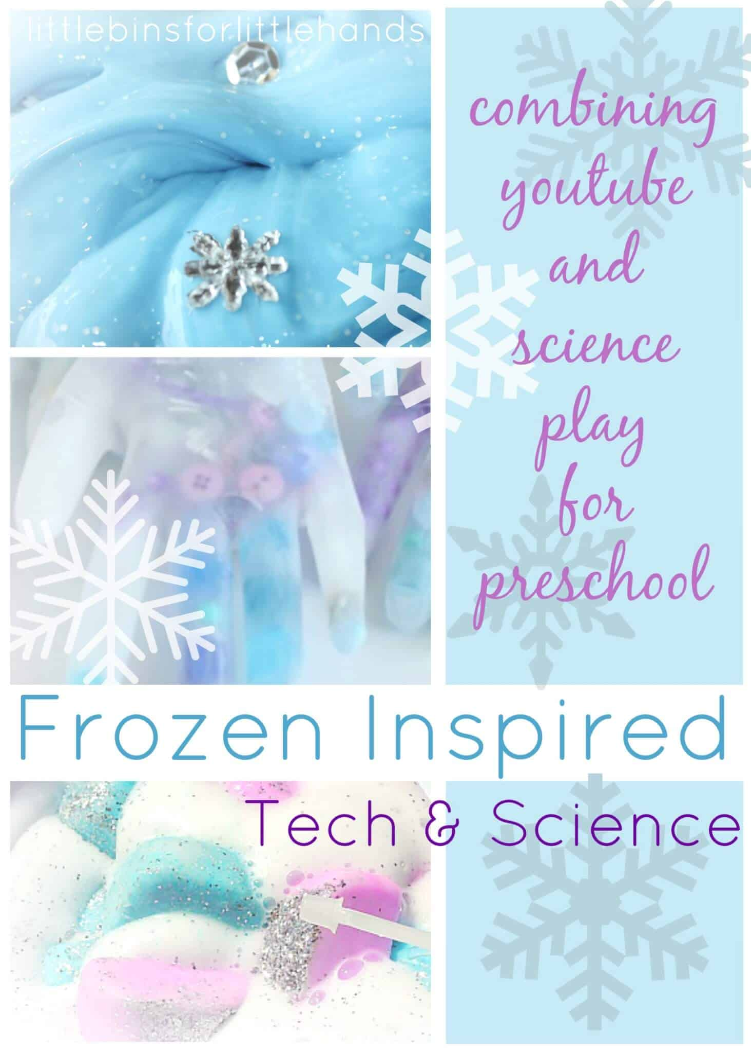 Frozen Themed Science and Technology Ideas for Kids