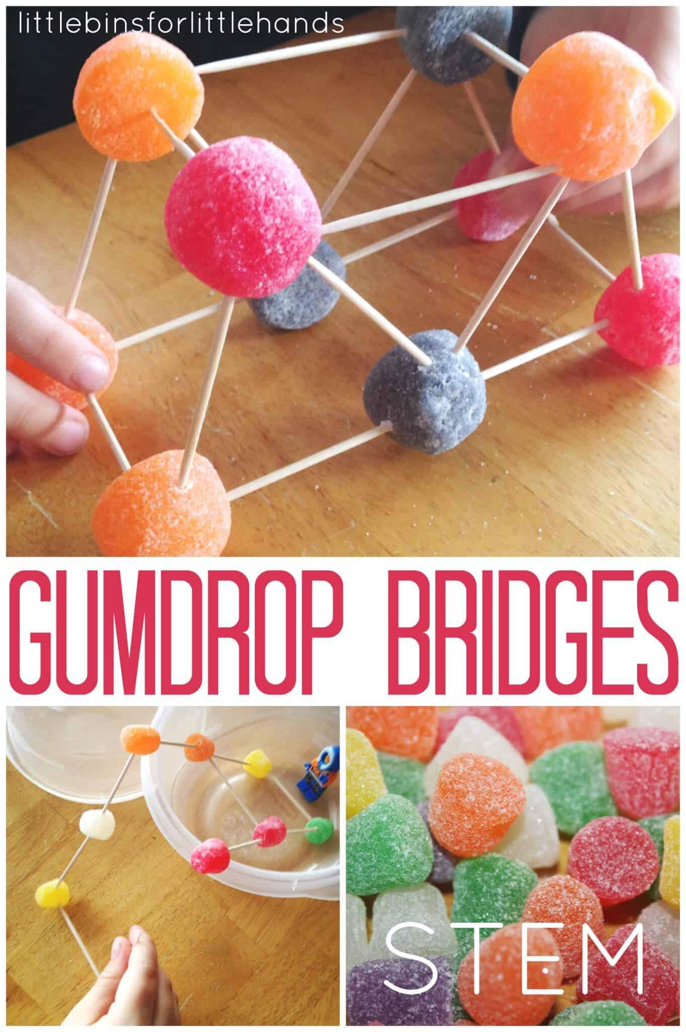 Gumdrop Bridge Building Stem Engineering Activity