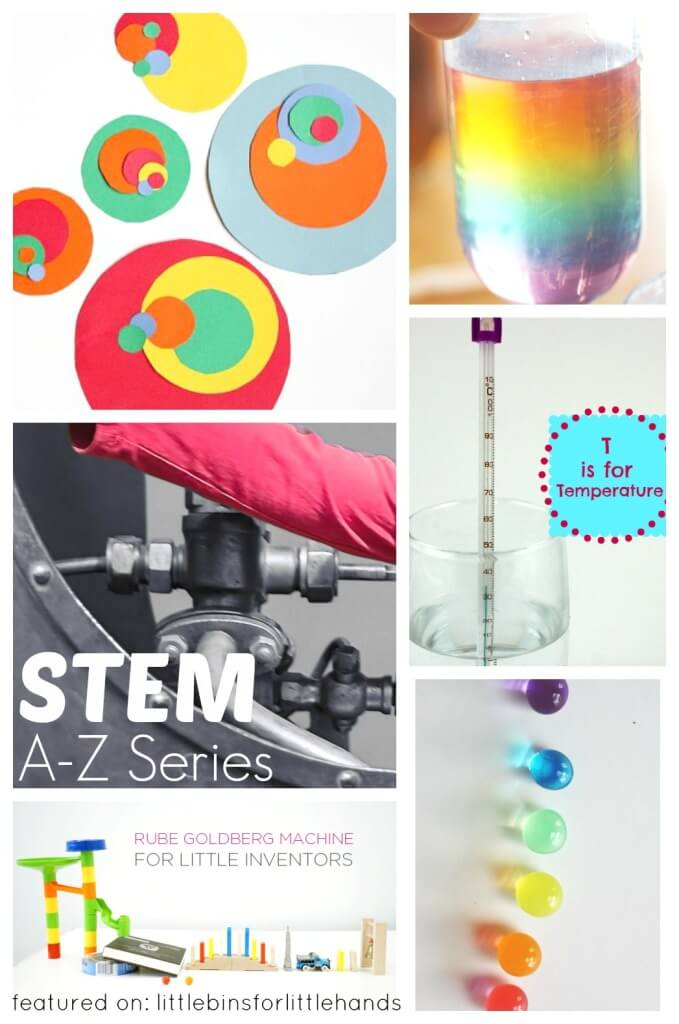 Kids STEM Activities A-Z STEM Series