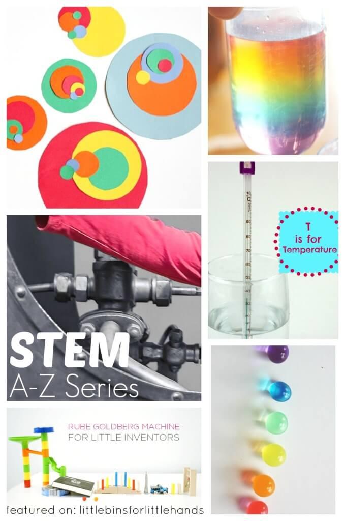 Kids STEM Activities A-Z STEM Series
