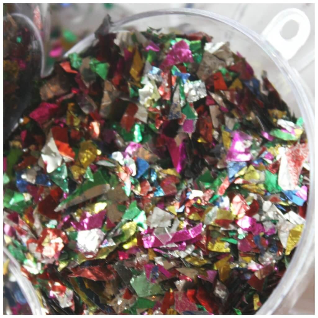 New Years Confetti Ornament Party Idea Inside Ornament