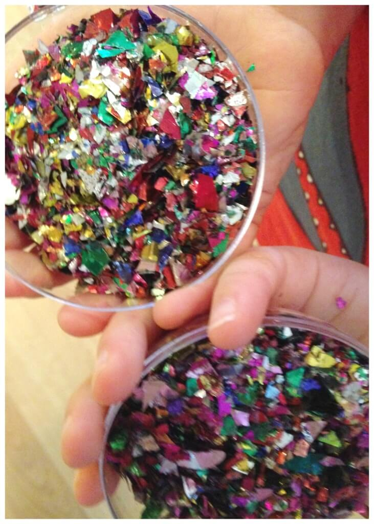 New Years Confetti ornament party celebration idea