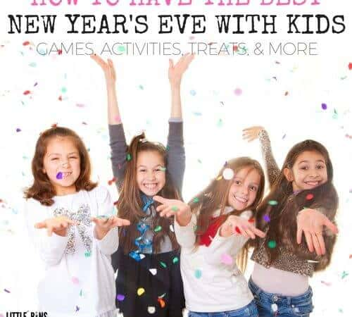 Best Kids New Years Eve Party Ideas for Games, Play, & Treats