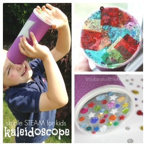 Simple Kaleidoscope for Kids