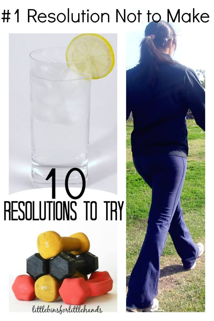 Weight Loss Resolution Not To Make and 10 Resolutions you should make