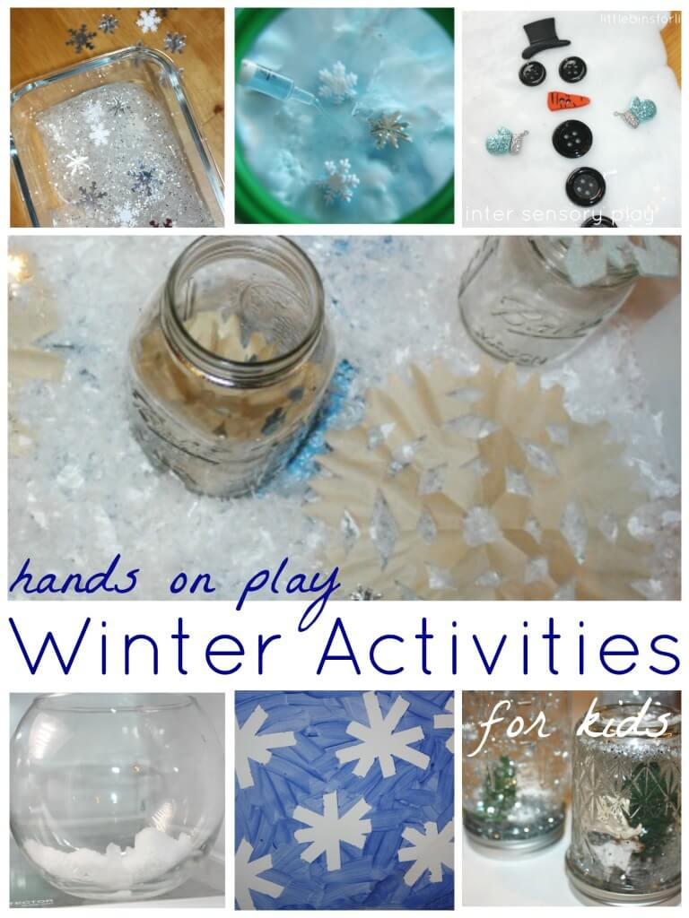 Winter Activities For Kids Hands On Play and Learning