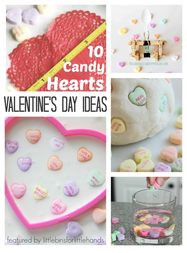 10 Conversation Candy Hearts Activities Valentines Day Learning Science Sensory Math