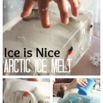 Arctic Ice Sensory Play Winter Ice Melt Milk Container
